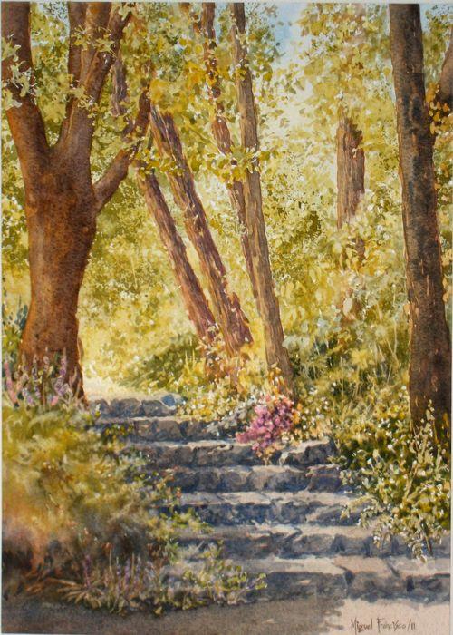 TCUMFL201121, Escalera en el bosque, 32X47, 20111020 (1)-R