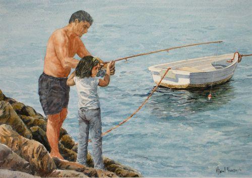 TCUMFL1122, Aprendiendo a pescar, 47X32, 20111105 (2)-R