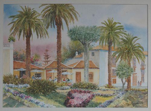 TCUMFL1406, Plaza de Casañas (La Orotava), 55.5X40, 20140823 (1)