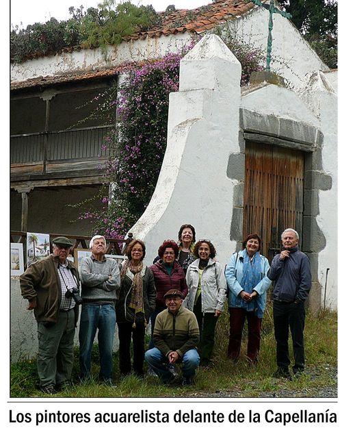 5 Pintores delante Capellanía
