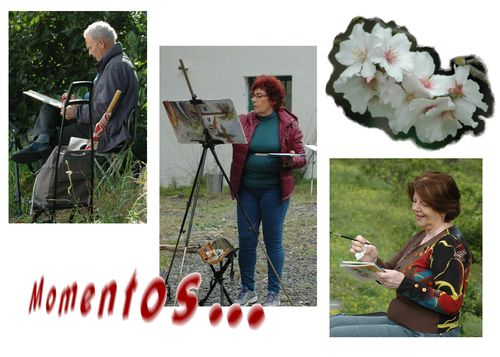 8 Momentos, Marie C. Pascual, Mª Teresa, José Luis