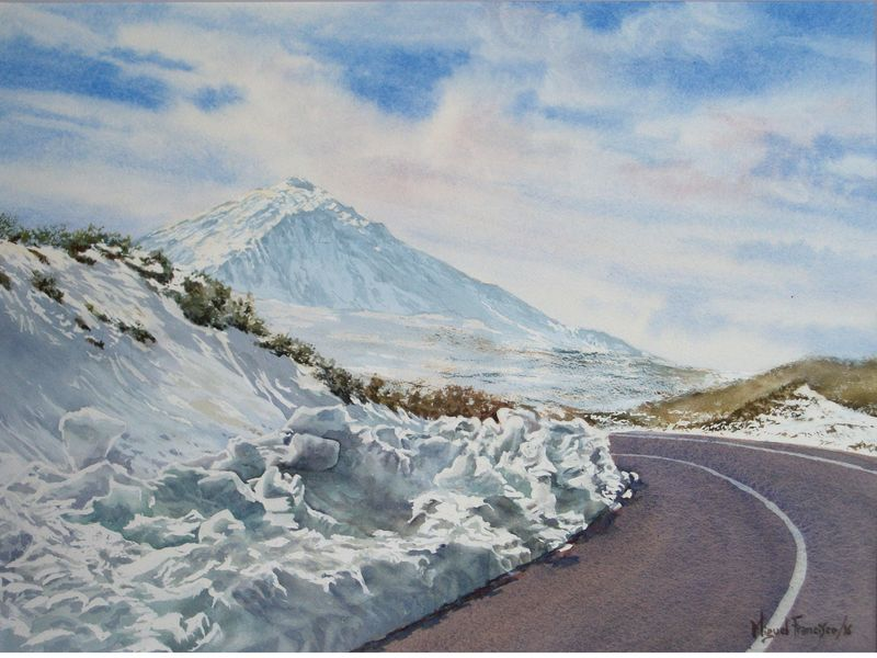 TCUMFL1606, Teide con manto de nieve. 64X47, 20160526 (2)-R1