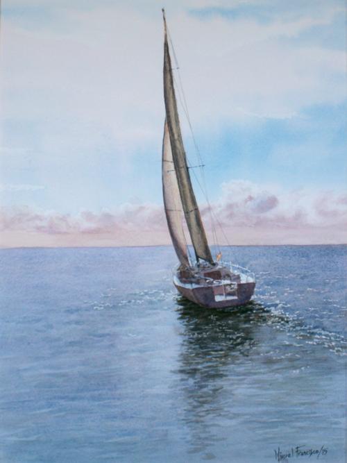 TCUMFL1512, Navegando con ventolina. 40X55, 20150902 (1)-R