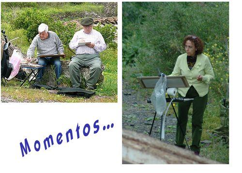 9 Momentos, Pilar Glez., Alfredo, Miguel Fco