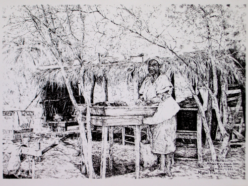 TDIMFL_Preparando el mondongo , Repúb. Dominicana, 32X23, MAY-1991